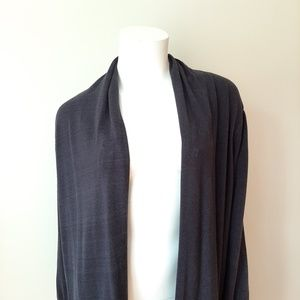 MICHAEL Michael Kors Sweaters - Michael Kors Navy Blue Open Cardigan Sweater